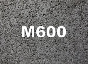 бетон м 600